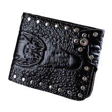 Men Crocodile Pattern Business Short Wallet Coin Purse Card Holders Handbag Luxury fashion bag sacoche homme wholesale Free Ship