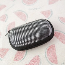 Black Glasses Case Box for 1/6 1/4 1/3 BJD doll to keep glasses in it free shipping(China)
