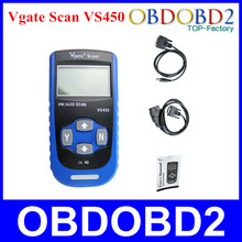 Vgate Scan VS450 OBD2 Code Reader Diagnostic Tool VS 450 Reset Oil Fault Code Scanner With 3 Years Warranty