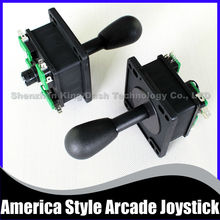 2 pcs/lot America Style 4 8 way Joystick with microswitch for arcade game machine,Perfect replacement Competition 8 Way Joystick(China)
