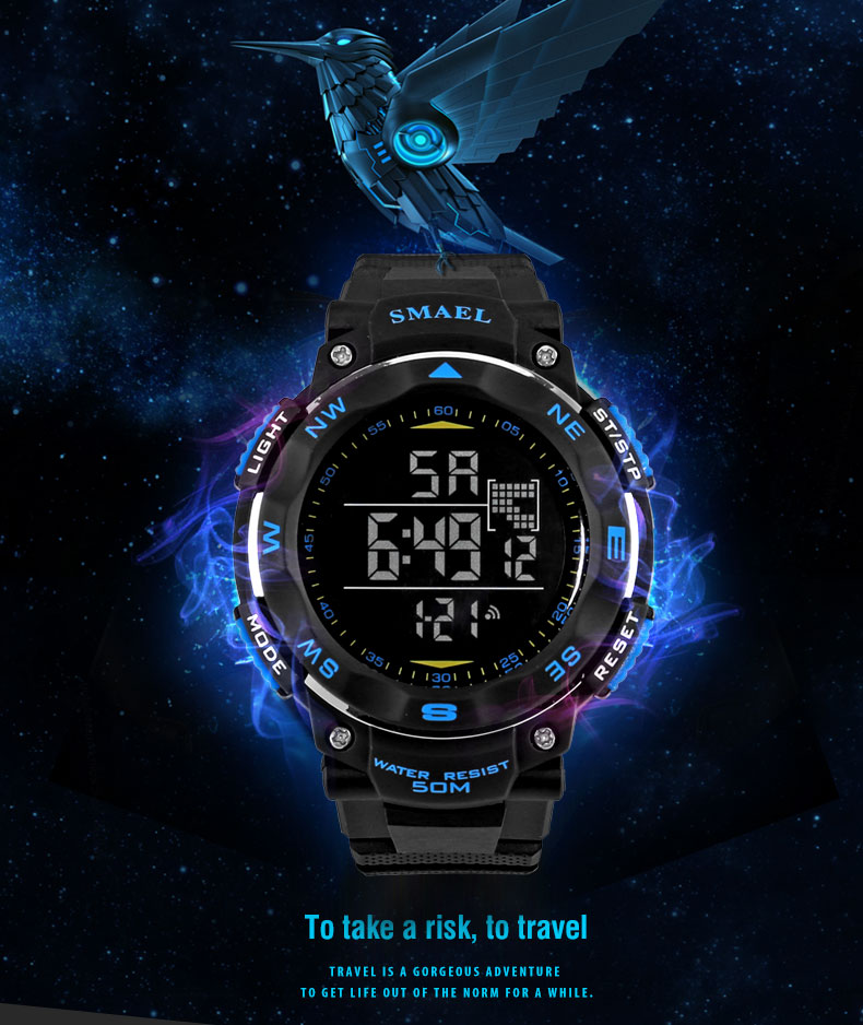 1.digital watch alarm