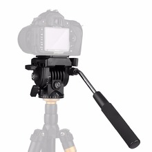 Video Camera Tripod Action Fluid Drag Pan Head For Canon Nikon Sony DSLR Camera Camcorder Shooting Filming KingJoy