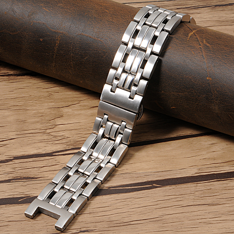 22*13mm New Fashion High Quality Pure Solid stainless steel Watch strap for GC Watchbands mens wris metal watch bracelets <br>