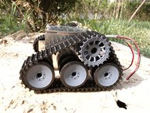 Tank car chassis/tracked car for robot parts/wall-e car/development kit for remote control robot car