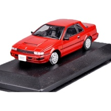 1:43 Scale Diecast Collection Car Model Red Nissan Gazelle Model Children Toy