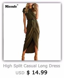 High Split Casual Long Dress