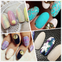 1 Bottle Mermaid Nail Art Sugar Design Glitter Powder Holographic Sequins Laser Flakes Tips Decorations JITY01-05