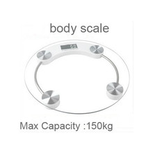 180kg Toughened glass Precision Electronic Digital Scale Glass Electronic body Weight bathroom scales Balance weighing scale(China)