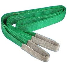 2TX1M--3M 6:1 High tensile Eye-eye flat webbing sling endless industrial lifting sling polyester fiber strap(China)