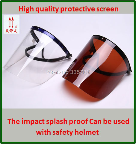 high quality safety masks Plexiglass anti-UV protect mask Impact resistance Anti-spatter full face mask for welding<br>