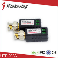 Quality Cheapest enhanced Video Balun Twisted BNC CCTV Video Balun passive Transceivers UTP Balun BNC Cat5 CCTV 30PCS(China)