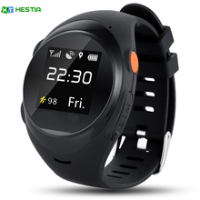 HESTIA S888A 2G SIM Card Children Elder Smart Watch SOS Emergency Call Smartwatch GPS LBS Wifi Intelligent Clock PK Q50 Q90(China)