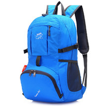 35L Nylon Portable Bag Folding Backpack Bag Unisex Mountaineering Bag