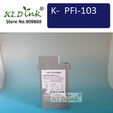 KLDINK - PFI-103GY Gray Compatible Ink Cartridge ( 2213B001 Ink)(China)