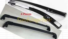 4Pcs Black fit for Land Rover LR Discovery sport 2015 2016 2017 baggage luggage roof rack roof rail & cross bars(China)