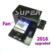A4 Small UV Printer Golf UV Flatbed printer for Phone case,Leather, Caremic,Etc.