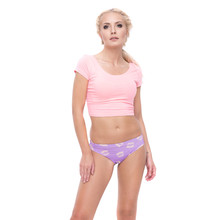 Buy VIOLET CROWN Women Underwear Thongs G-string women underwear panties women thongs g strings womens seamless panties g3