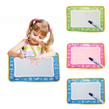Children Water Drawing Painting Writing Mat Board Magic Pen Doodle Gift stencils for painting aqua doodle great