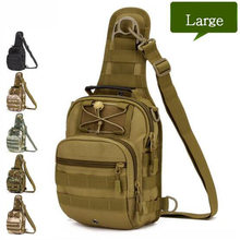 Men's bags tactics chest backpack female travel camouflage Recreation bag Best selling fashion high-end women luxury