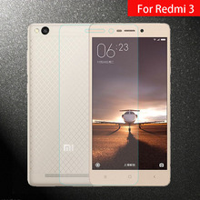 9H Tempered Glass Film For XiaoMi Redmi 3 Premium HD Clear Screen Protector 5.0inch Redmi3 No Finger Print Glass Protective