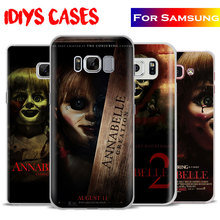 Annabelle Creation Horror Movie Phone Case Cover For Samsung Galaxy S4 S5 S6 S7 Edge S8 Plus Note 8 2 3 4 5 A5 A710 J5 J7 2017