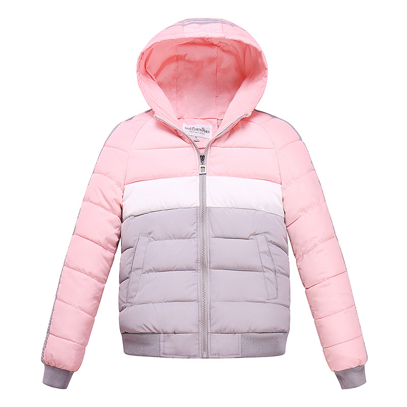 Snow Wear Wadded Jacket Female 2017 Autumn Winter Jacket Women Slim Short Cotton-padded Jacket Outerwear Winter Coat Women Îäåæäà è àêñåññóàðû<br><br>