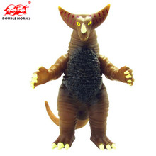 Hot 11CM Godzilla Anime Cartoon Movie Ultraman Dinosaur Monsters Action Figure Collectible PVC Model Boy toys for children gift(China)