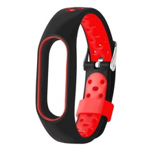Buy LANDFOX New Fashion WaterProof Lightweight soft Ventilate TPE Wrist Strap Wristband Bracelet Xiaomi Mi Band 2 sports for $2.76 in AliExpress store