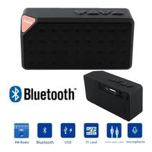 BCMaster Mini Boombox Speaker Bluetooth Sound portatil square Speaker for Xiaomi Phone PC Black