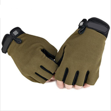 New US Army Tactical Gloves Outdoor Sports Original logo half finger Combat Gym Glove Slip-resistant Carbon Fiber Mittens