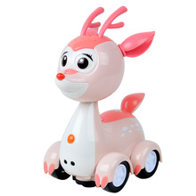 Lara genuine chase touch-sensitive light projection songs Zhumian electronic pet cute cartoon children's toys lovely Best Gift(China)