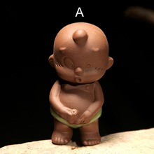 Pee boy child child doll fountain Yixing tea pet boutique ornaments play Ge tea tea accessories