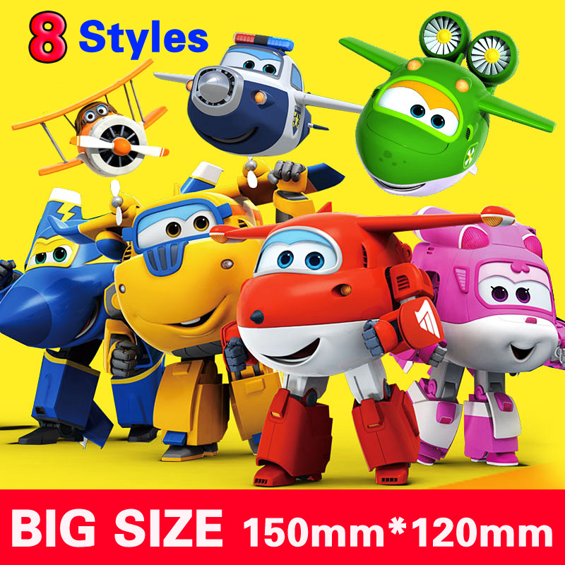 with box 15cm ABS Super Wings Deformation Airplane Robot Action Figures Super Wing Transformation toys for child gift Brinquedos<br><br>Aliexpress