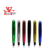 New Rotary Tattoo Machine & Pamanent Makeup Pen 4.5w Motor RCA Connection Line U-pick 6 Colors