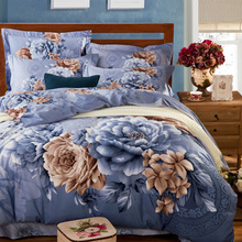 Traditional Chinese Happiness Home Decor Wedding Bedding Set 100% Cotton 3D Flower Peony Quilt Cover Bed Sheets Queen King Size