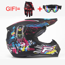Free shipping Top ABS motorcycleMotobiker Helmet Classic bicycle MTB DH racing helmet motocross downhill bike helmet S M L XL(China)
