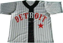 Polyester Wholesale Custom Baseball Jersey