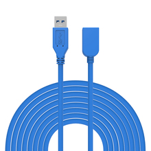 0.5M 1M 1.5M 3M 5M USB 3.0 Extension cable Male to Female Data Sync Cable for U Disk Wireless Lan Printer Mobile Phone Camera(China)