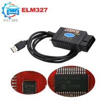Pic18f25k80 For Ford ELM 327 USB FTDI chip with switch For Forscan HS CAN/MS CAN car diagnostic Tool&ELM327 Bluetooth Version(China)