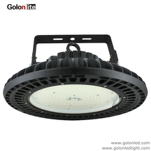 Golonlite high bay LED warehouse light 60W 130Lm/W 7800Lm UFO die casting aluminum 5000K waterproof 100-277V Bracket mounting