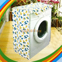 free shipping 30pcs/lot Floral fabric washing machine cover waterproof sunscreen cover type A type B type closet dust cover