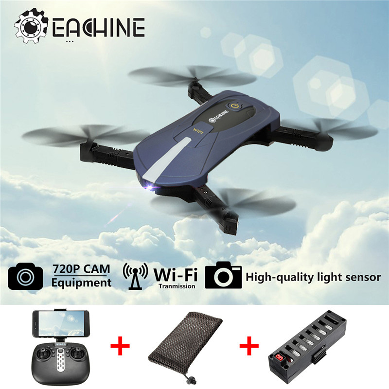 New Color Eachine E52 WiFi 2MP FPV With High Hold Mode Foldable Arm RC Quadcopter Model Toys For Children Gift VS JJRC H37 Mini<br>