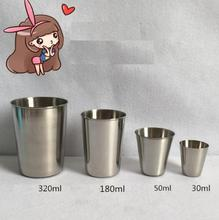304 Food Grade Stainless Steel Camping Cup Water Beer Coffee Tea Cups Outdoor Climbing Travel Fishing Drinkware Mug