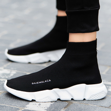 YTracyGold Shoes Men Sneakers Casual Shoes Slip Tenis Masculino Adulto Socks Footwear Basket Femme Breathable Couple Shoes