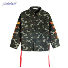 Children Camouflage Casual Shirts Big Boys New Camo Designs Long Sleeves Clothes Kids Spring Autumn Shirts Clothing G66021(China)