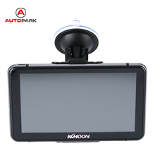 "KKmoon 7"" HD Touch Screen Portable GPS Navigator 128MB RAM 4GB ROM Car Entertainment System with Handwriting Pen for Cars"
