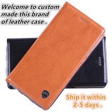 NC14 genuine leather flip cover case for Samsung Galaxy C5 phone cover for Samsung Galaxy C5000 phone case free shipping
