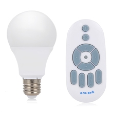 Lightme Dimming LED Bulb Light With Remote Control 4 Modes Energy Saving Bedroom Wireless LED Bulb 2017 New Generation