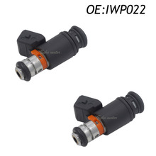New 2PCS For VW Volkswagen AFP VR6 2.8 AES Euro Van Golf Jetta OEM Weber IWP022 Fuel Injector