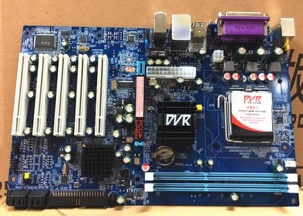 Новая материнская плата IPC для Intel G41 DDR3 PCI слот Материнская LGA775 5 VGA LPT 1 LAN 2 COM 4 SATA DVR